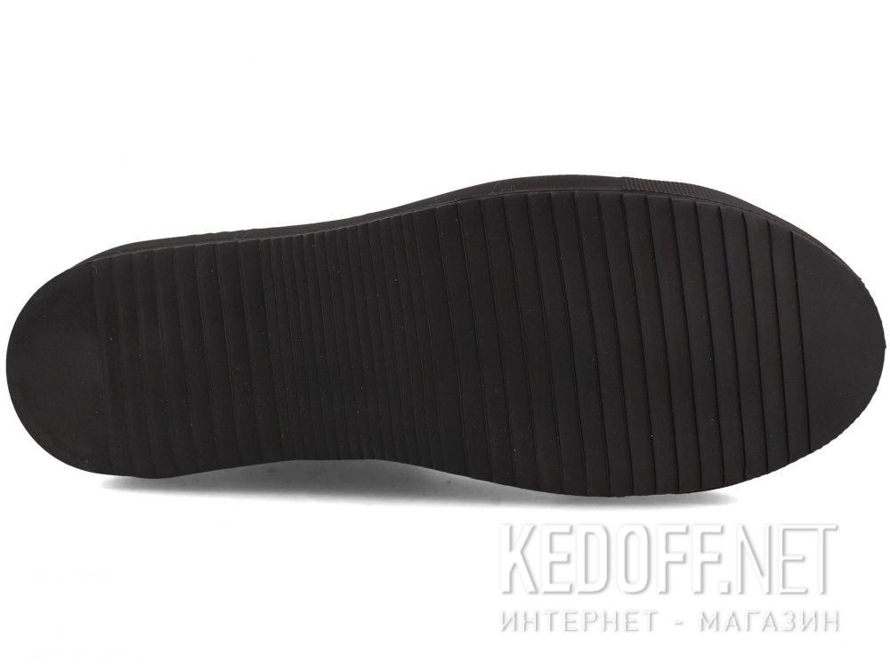Цены на Кожаные кеды Forester Monochrome 132125-272 MB чёрные