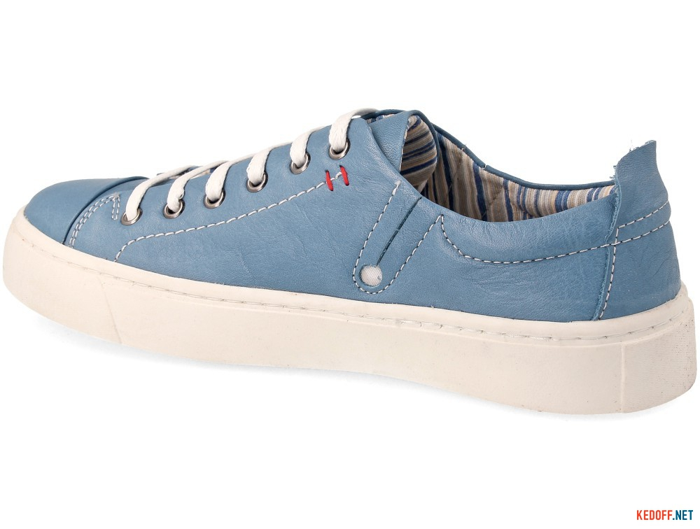 Leather sneakers Las Espadrillas Indigo low 152-40