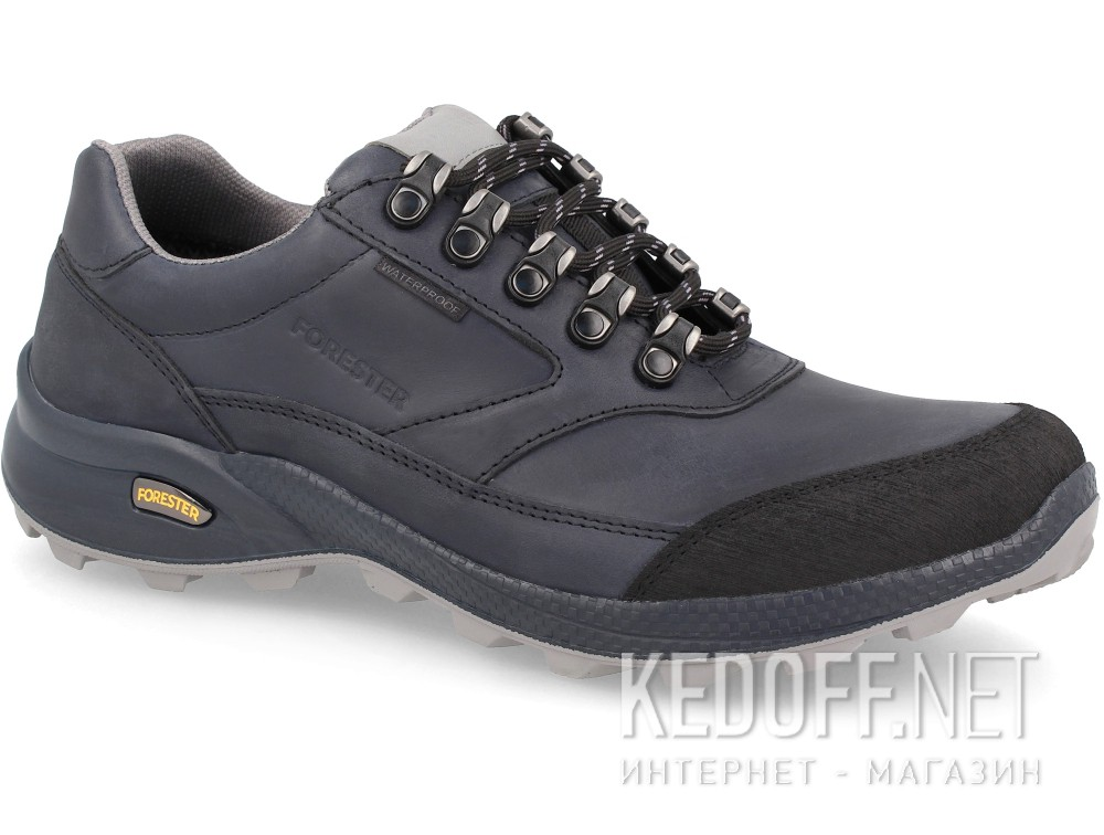Кожаные кроссовки Forester Waterproof Trek  1553001-891 Dark navy