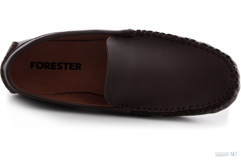 Leather moccasins Forester 14-6-04-45