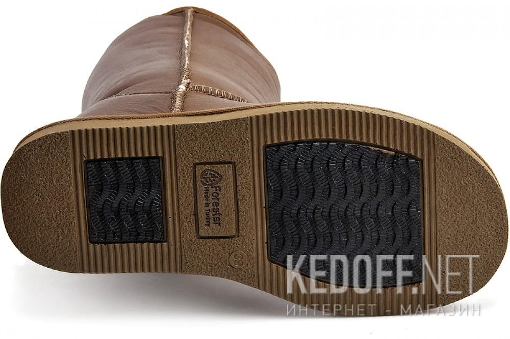 Кожаные угги Forester Hot Chokolate 10001-5031-32