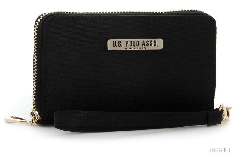 Купить Клатчи и кошельки U.S. Polo Assn USC7048-2   (чёрный)