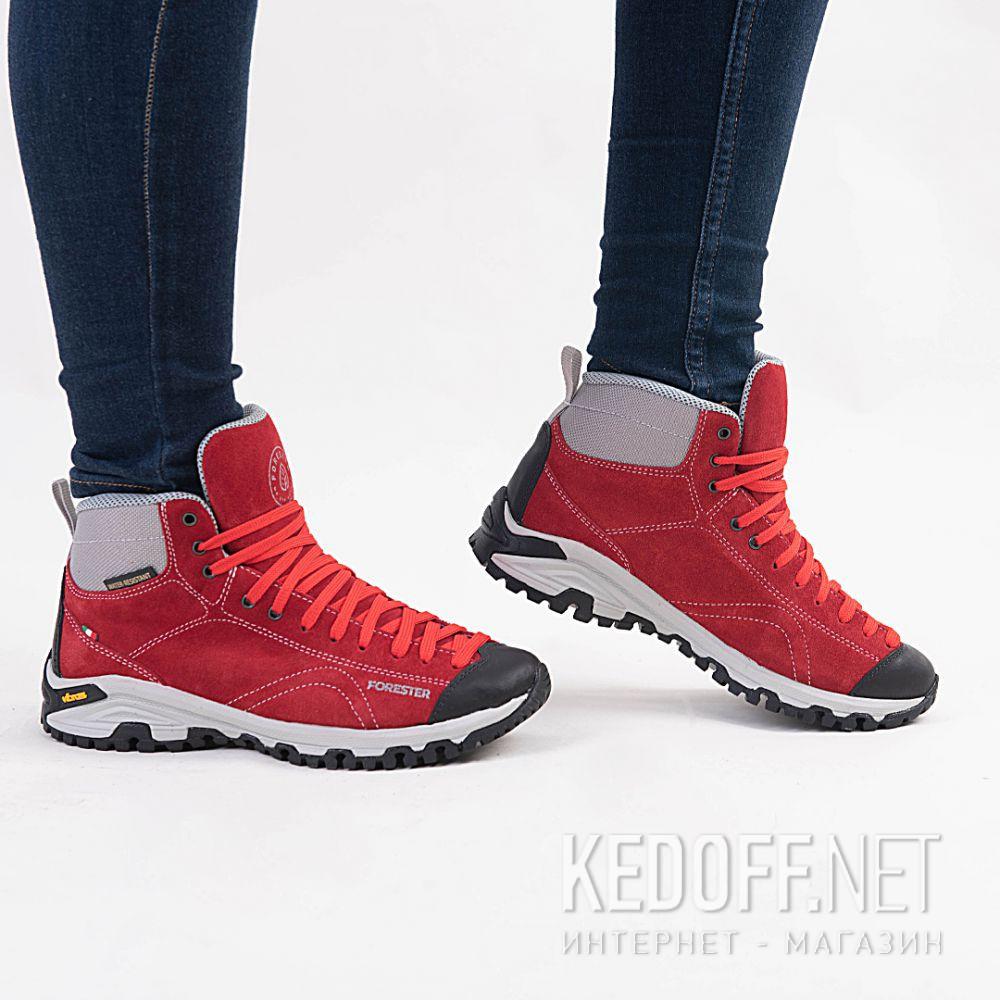 Красные ботинки Forester Red Vibram 247951-471 Made in Italy все размеры