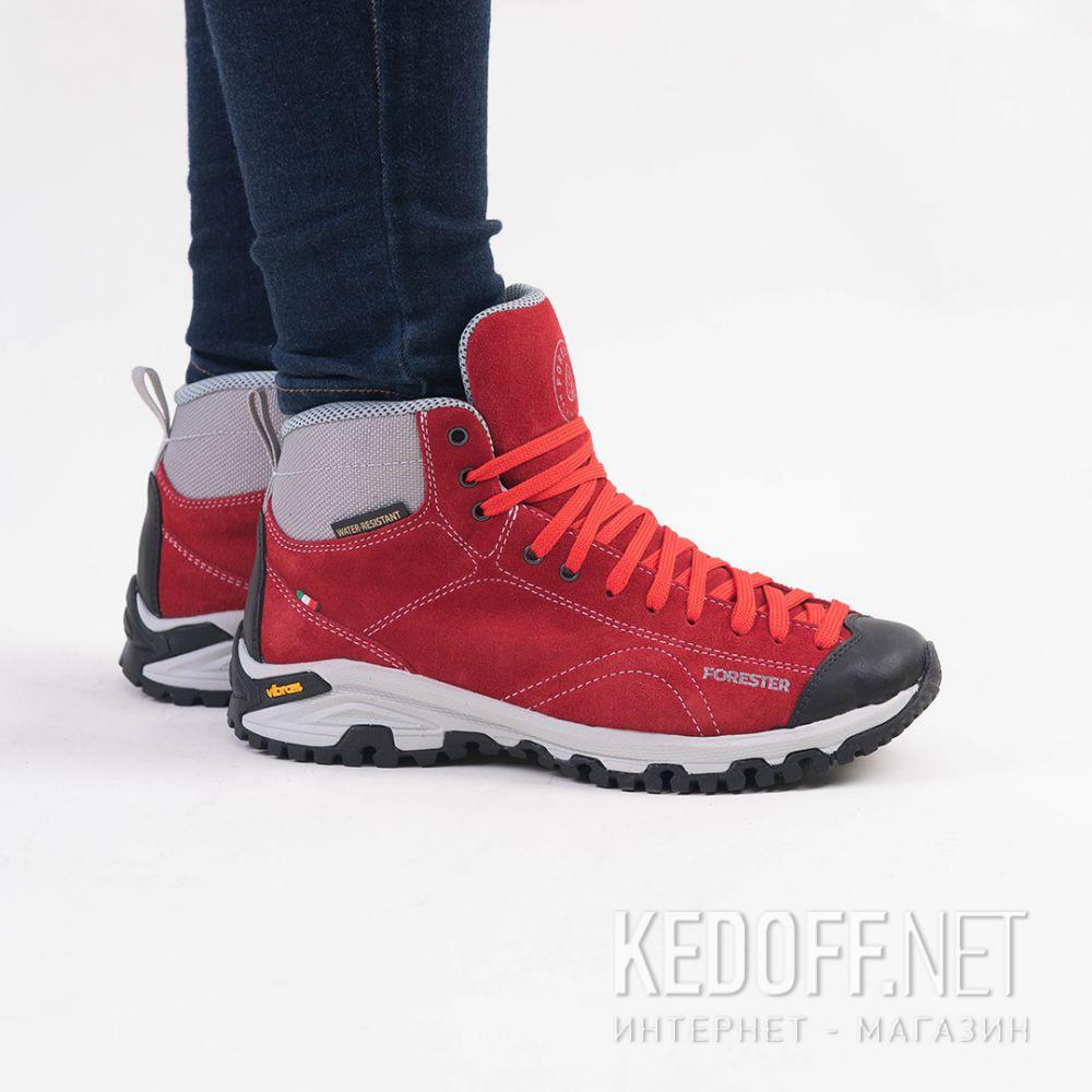 Цены на Красные ботинки Forester Red Vibram 247951-471 Made in Italy