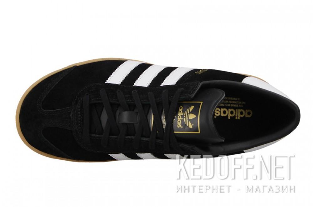 Мужские комфорт Adidas Originals Hamburg S76696   (чёрный) описание