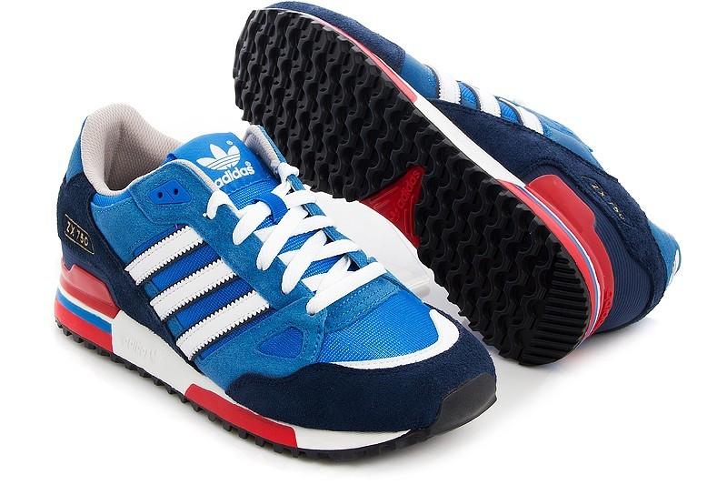 adidas zx 750 blau rot 47 1 3