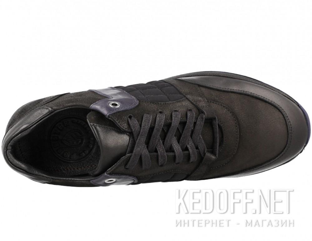 Мужские туфли Forester 61275-27   (чёрный) купить Киев