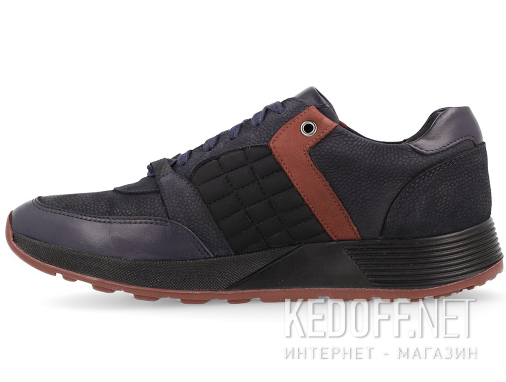 Туфли Forester 61275-89 унисекс   (тёмно-синий/чёрный)