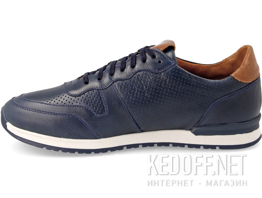 Кросівки Forester Casual Jazz 03-0691-002 Navy Leather