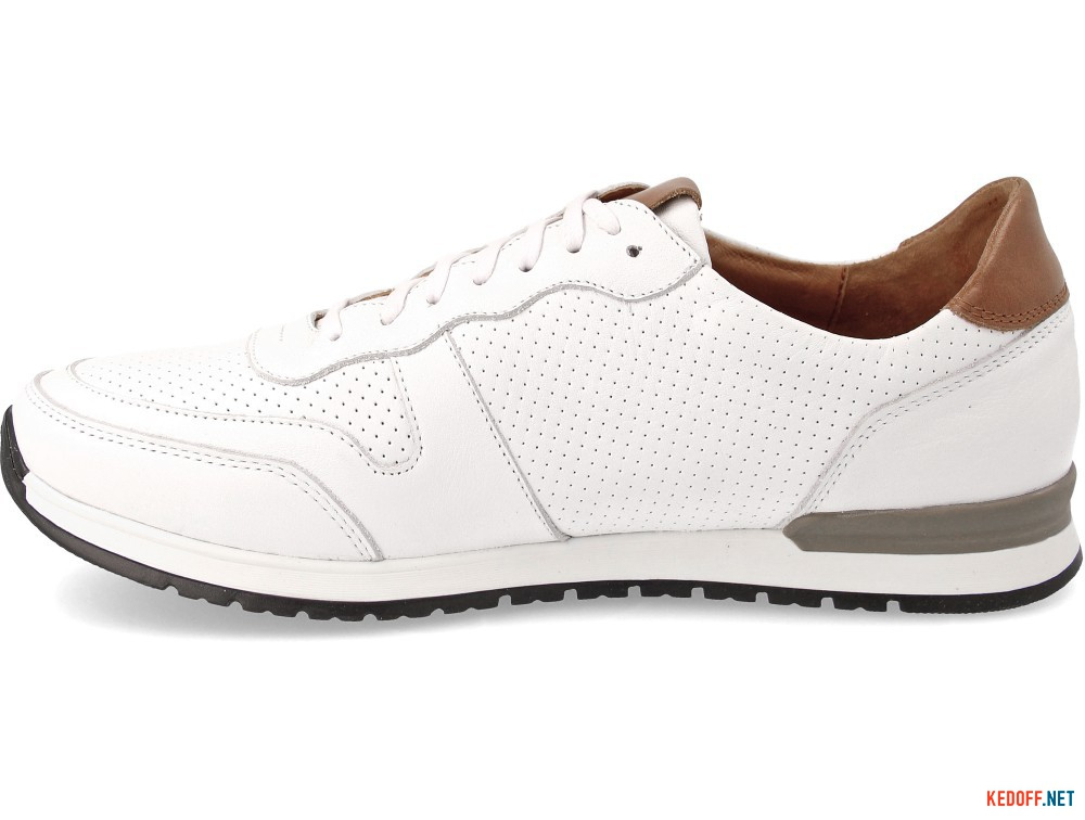 Кроссовки Forester Casual Jazz 03-0691-004 White Leather