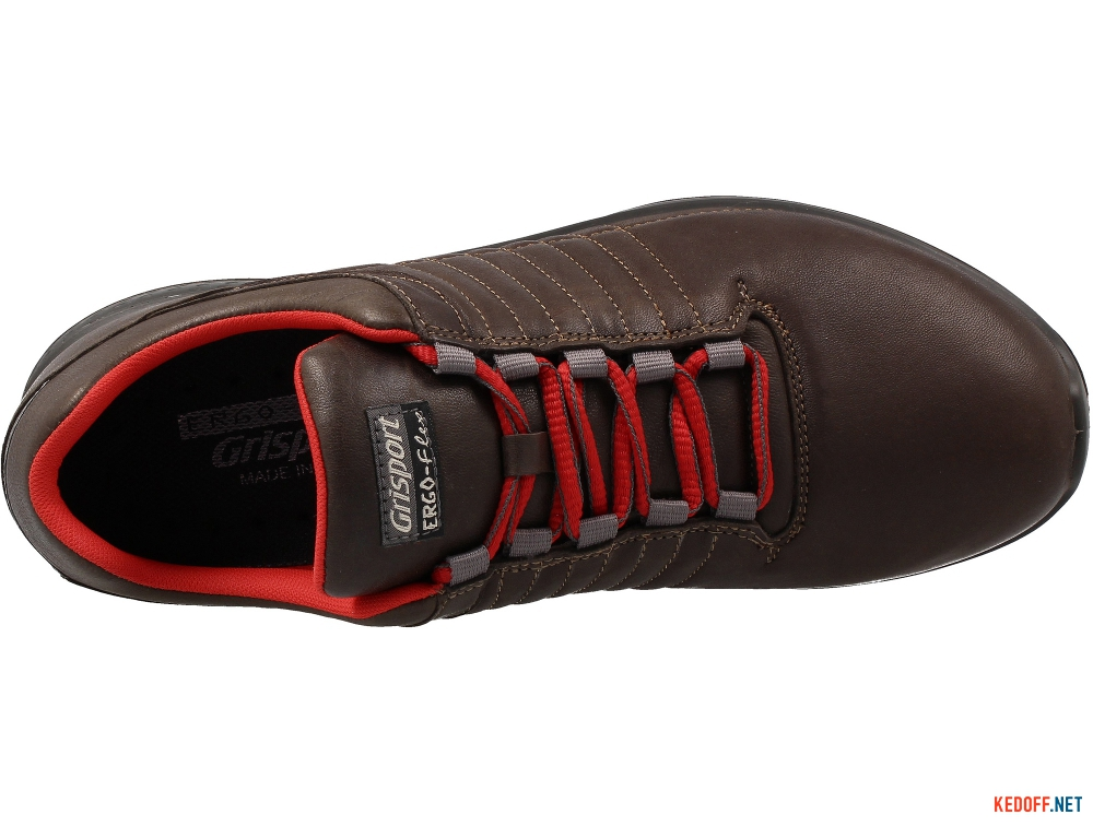 Sneakers low boots Grisport 42811D12 Brown leather