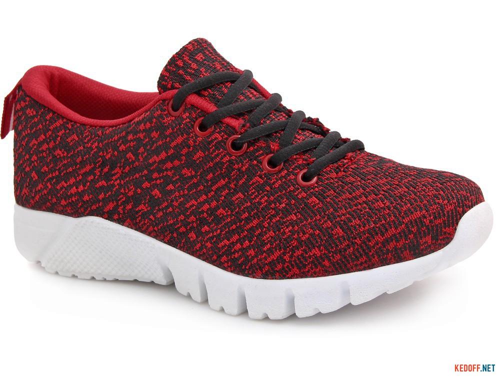 Sneakers Las Espadrillas Cherry Colored Knit 6401-47