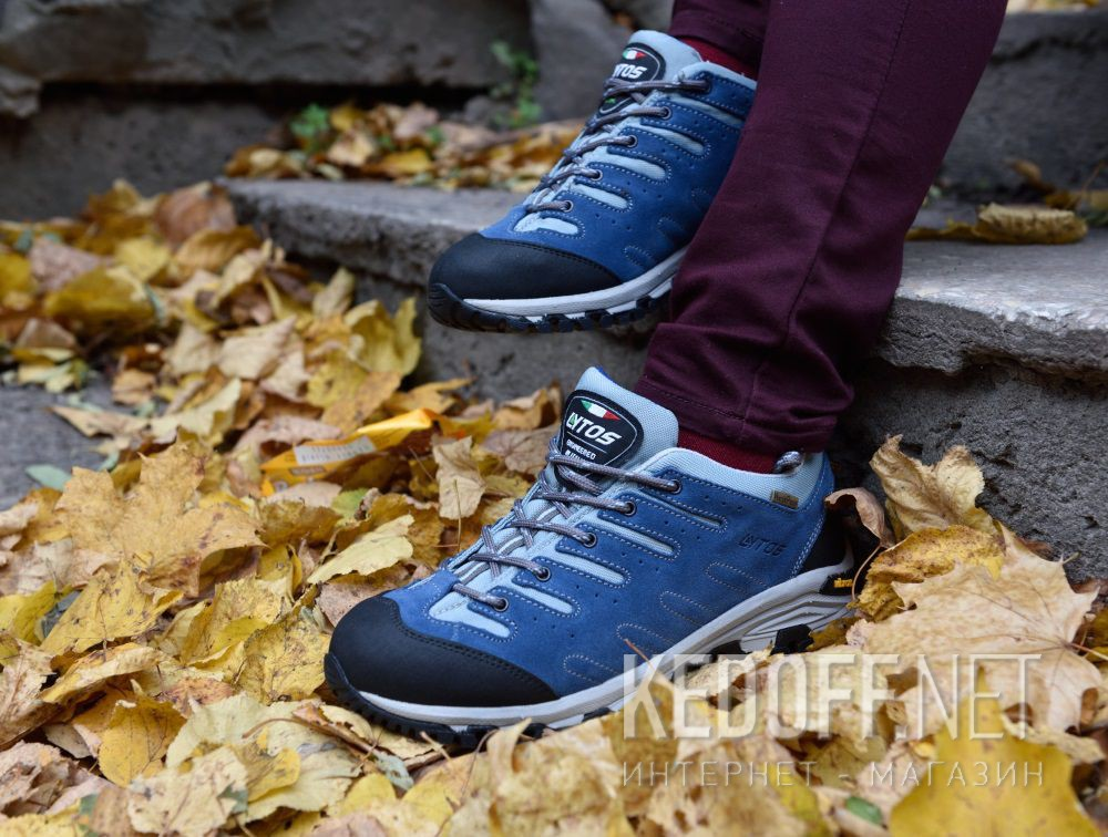 Delivery Lytos NITRON sneakers Vibram 57B007 121-121 Blue suede