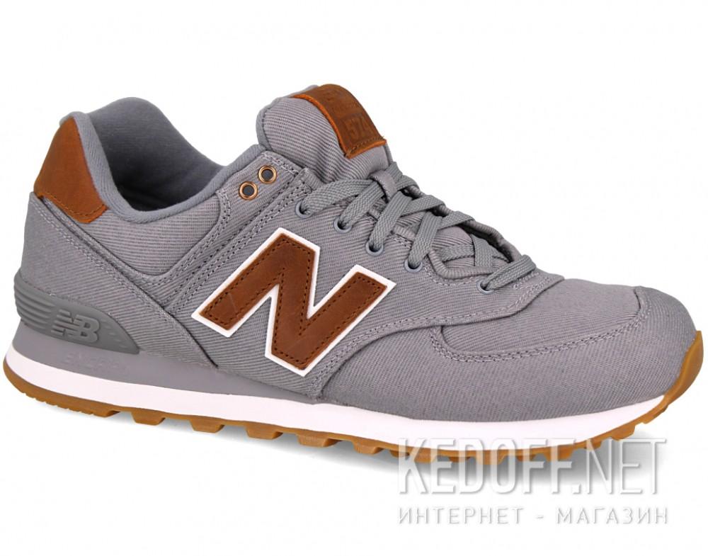 Купить Мужские кроссовки New Balance ML574TXC   (серый)