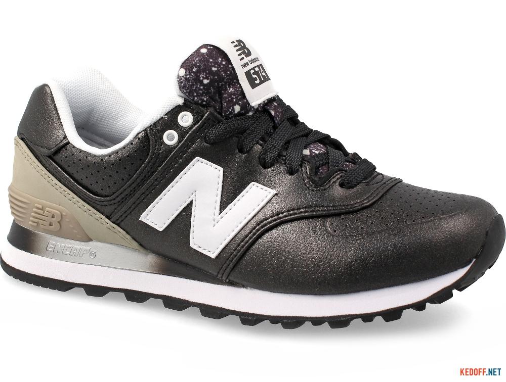 Женские кроссовки New Balance WL574RAA    (чёрный/серый) купить Киев