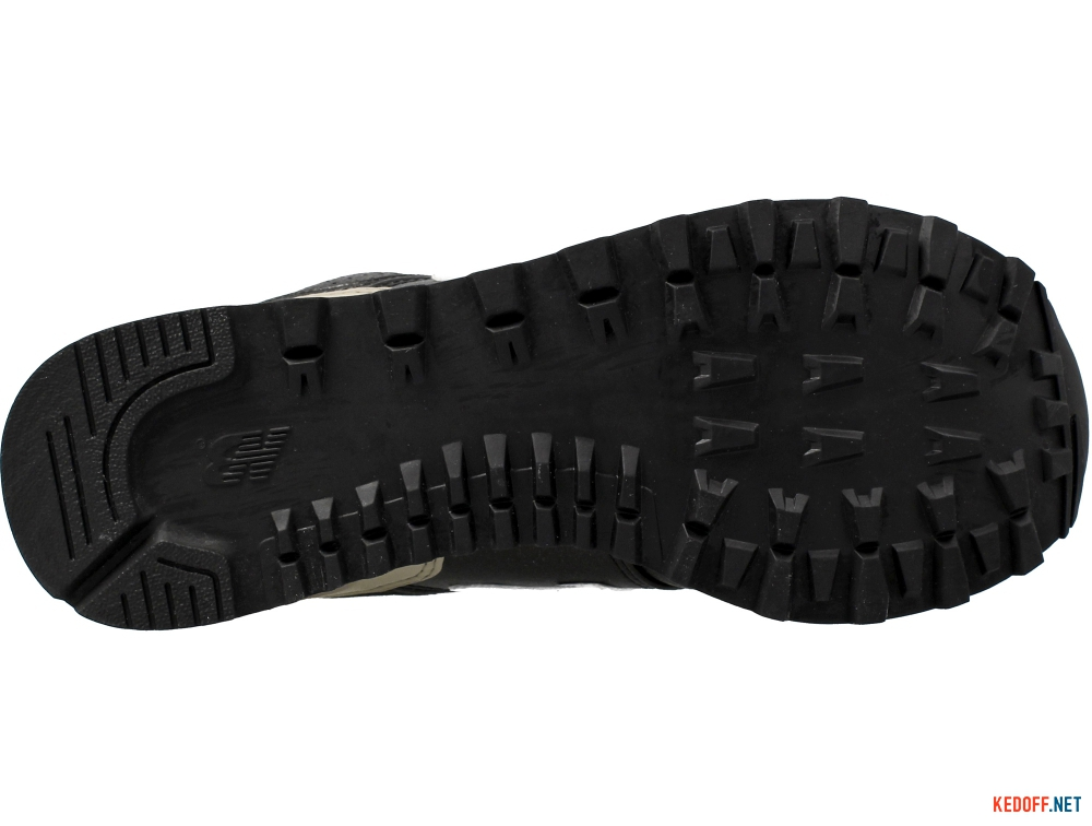 Женские кроссовки New Balance WL574RAA    (чёрный/серый) описание