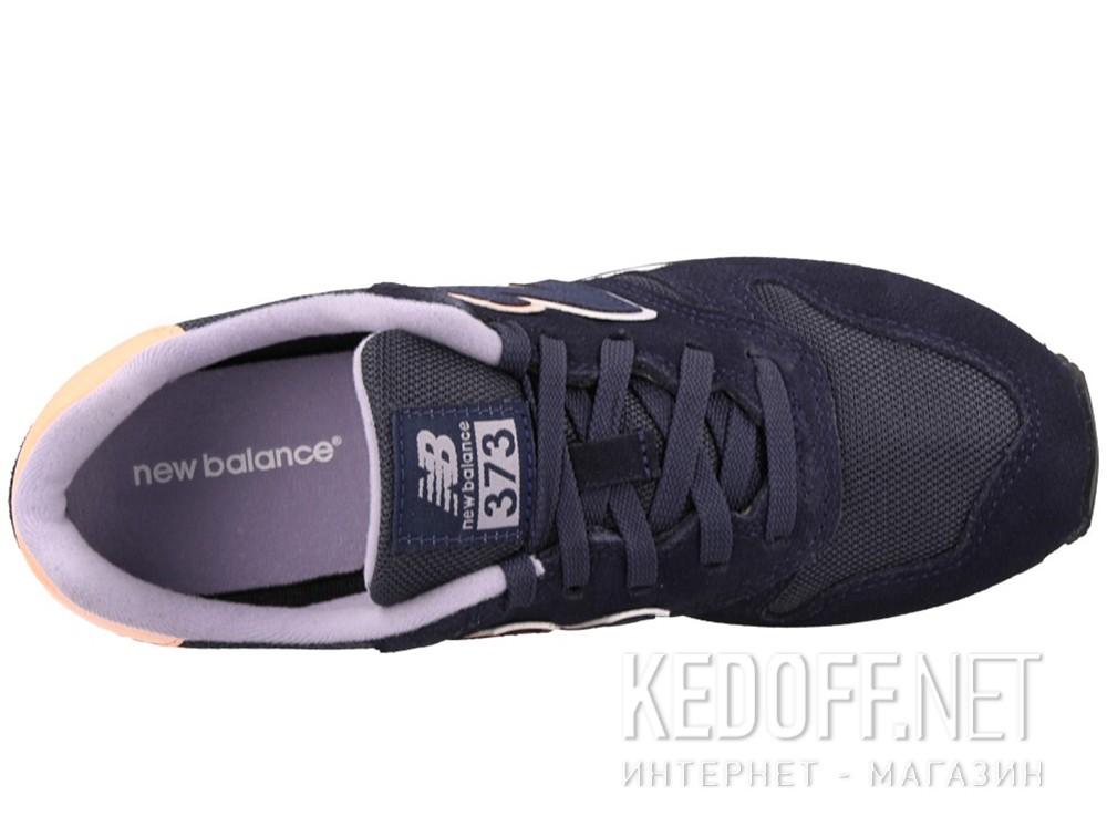 Оригинальные Женские кроссовки New Balance WL373GN (синий)