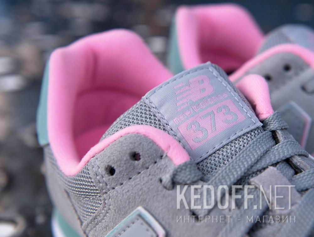 Цены на Спортивная обувь New Balance WL373GT унисекс   (серый)