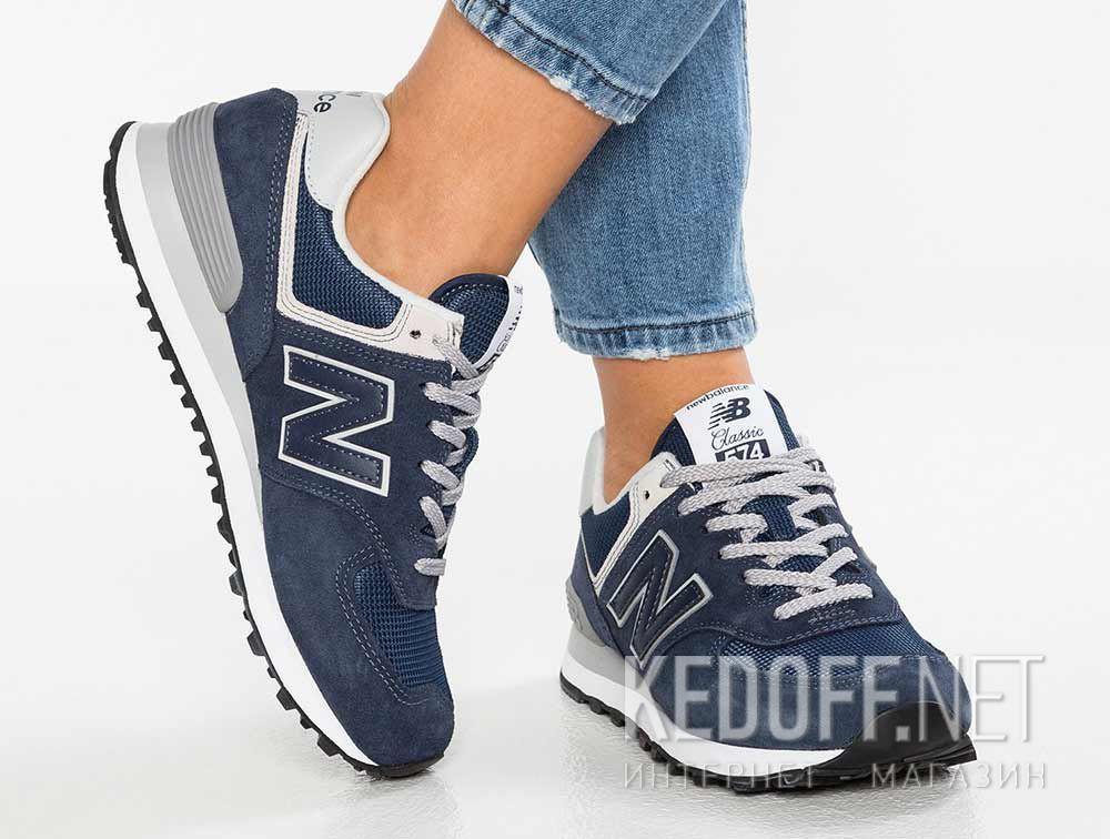 Кроссовки New Balance WL574EN Синие все размеры