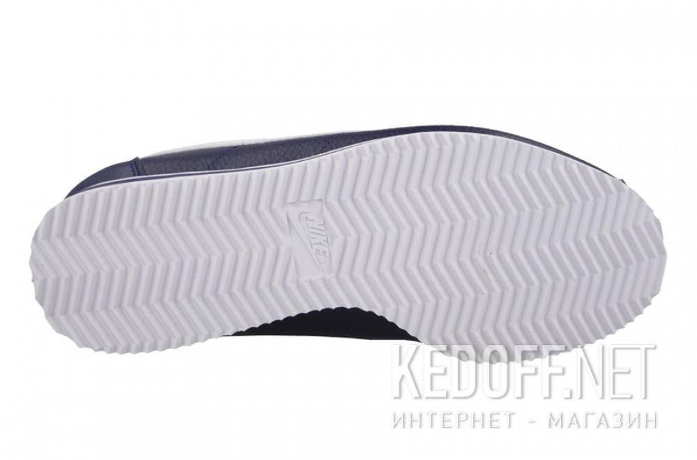 Цены на Мужские кроссовки Nike Classic Cortez Premium Leather 749571-414   (тёмно-синий)