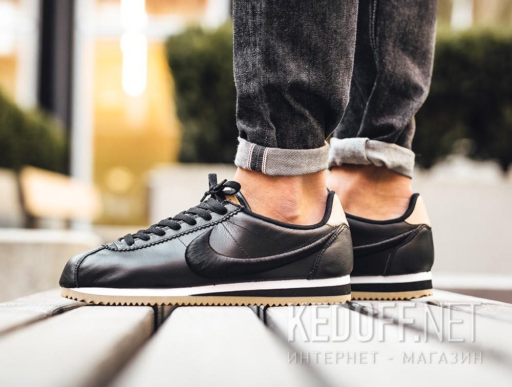 Цены на Мужские комфорт Nike Classic Cortez Premium Leather 861677-004   (чёрный)