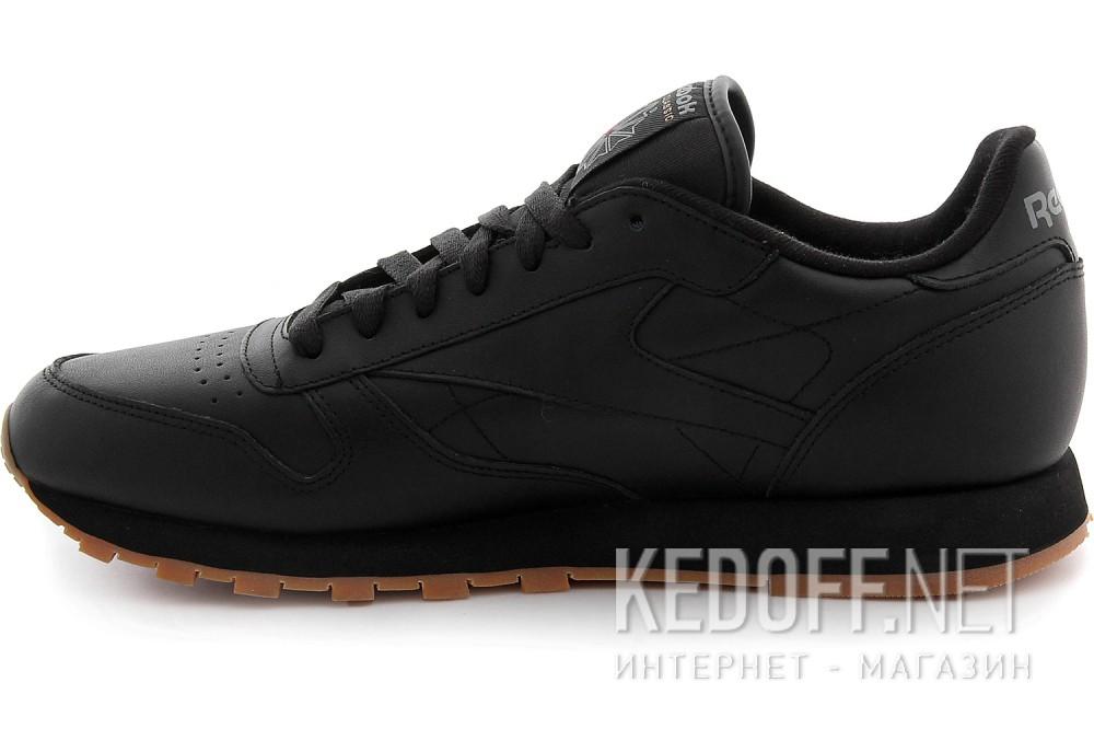 Кроссовки Reebok Classic Leather Black/Gum 49800   (чёрный) купить Киев