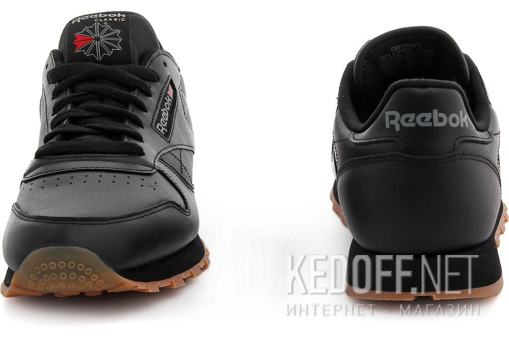 Оригинальные Кроссовки Reebok Classic Leather Black/Gum 49800   (чёрный)