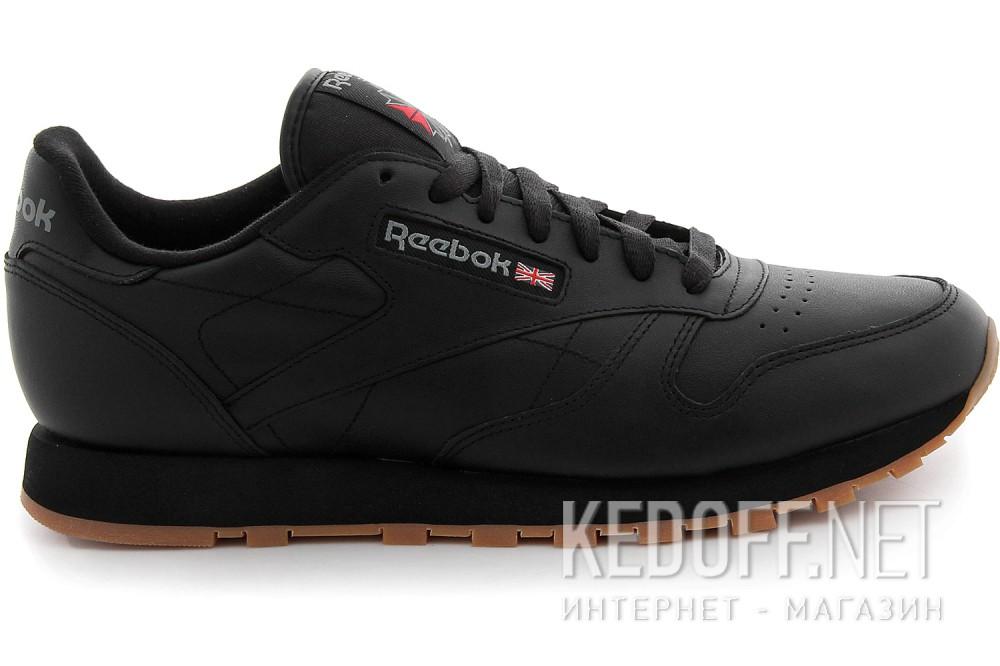 Кроссовки Reebok Classic Leather Black/Gum 49800   (чёрный) описание