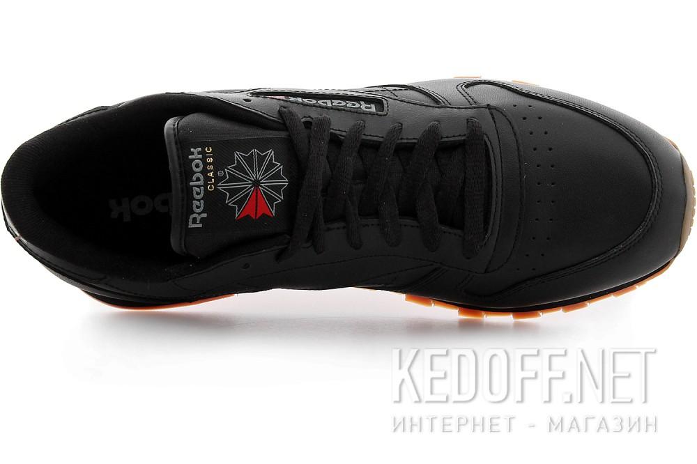 Цены на Кроссовки Reebok Classic Leather Black/Gum 49800   (чёрный)