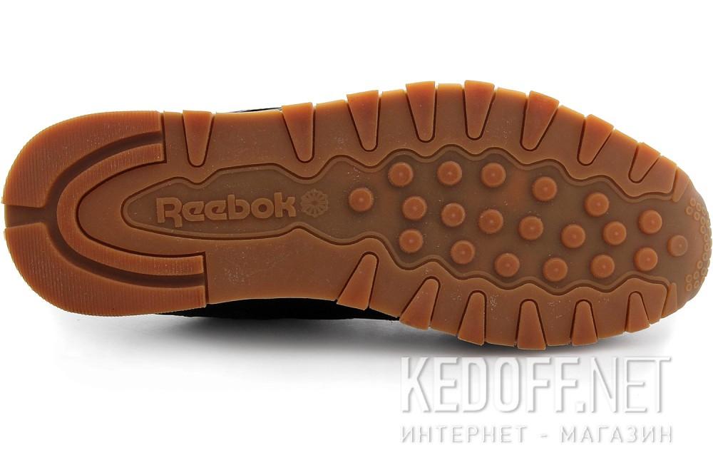 Кроссовки Reebok Classic Leather Black/Gum 49800   (чёрный) все размеры