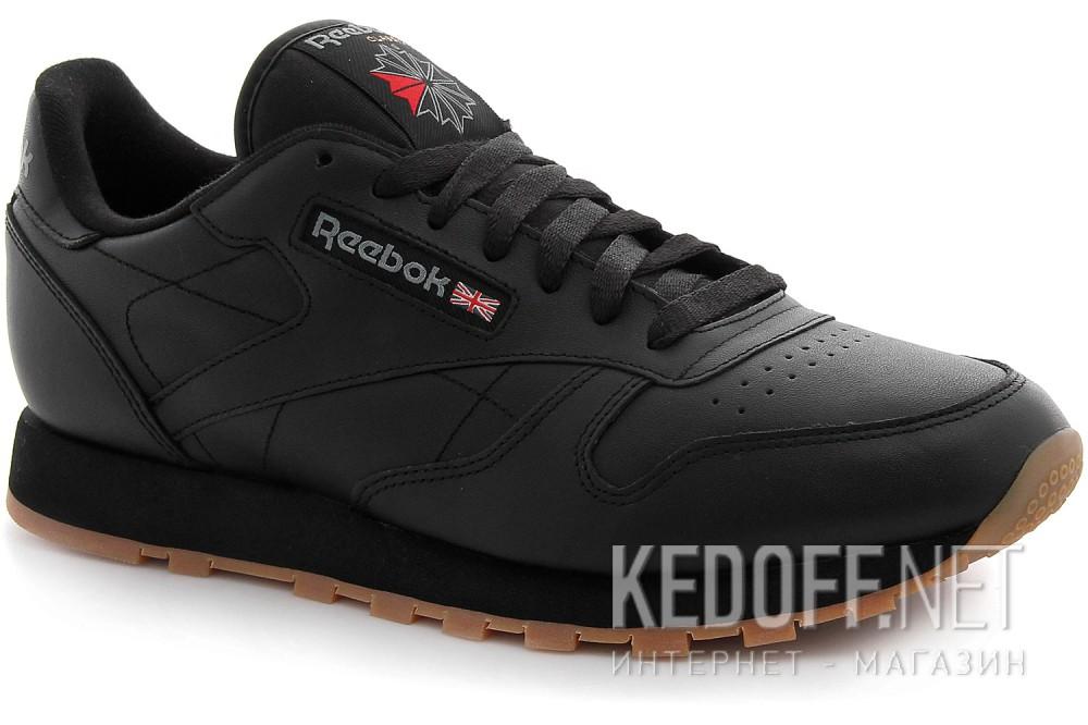 Кроссовки Reebok Classic Leather Black/Gum 49800   (чёрный) купить Украина