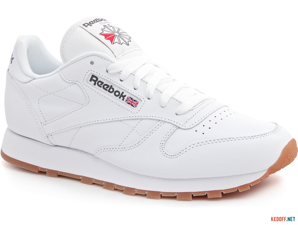 8e743da2141 Shop Reebok Classic Leather White Gum 49799 at Kedoff.net - 21260