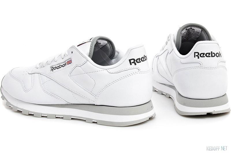 Кросівки Reebok Classic Leather 2214 White Grey в магазині взуття ... 433a669acde84