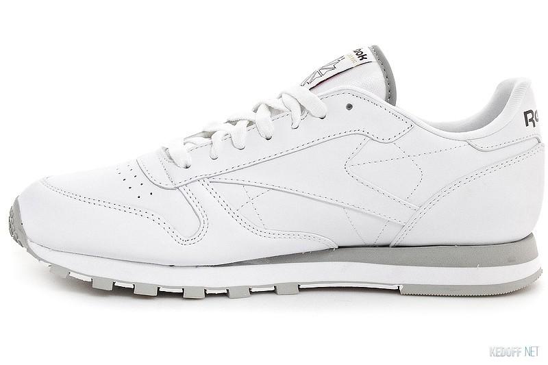 548ef8dc82e838 Кроссовки Reebok Classic Leather 2214 White/Grey в магазине обуви ...