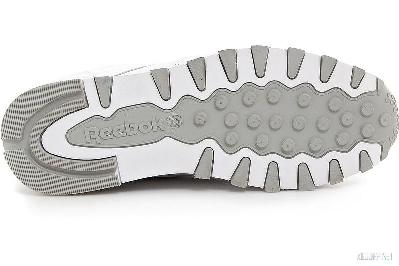Кроссовки Reebok Classic Leather 2214 White/Grey описание