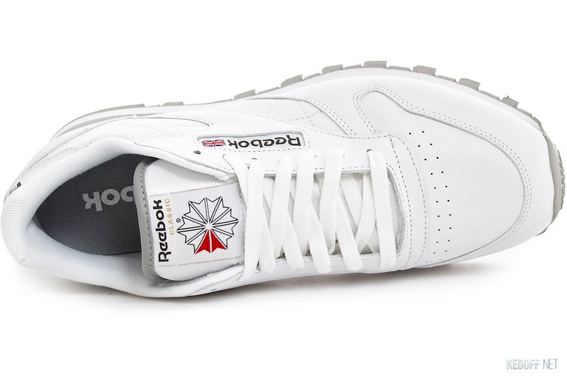 Цены на Кроссовки Reebok Classic Leather 2214 White/Grey