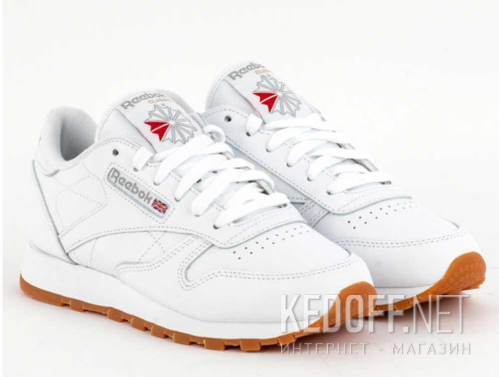 Кроссовки Reebok  Classic Leather 49803 White купить Украина
