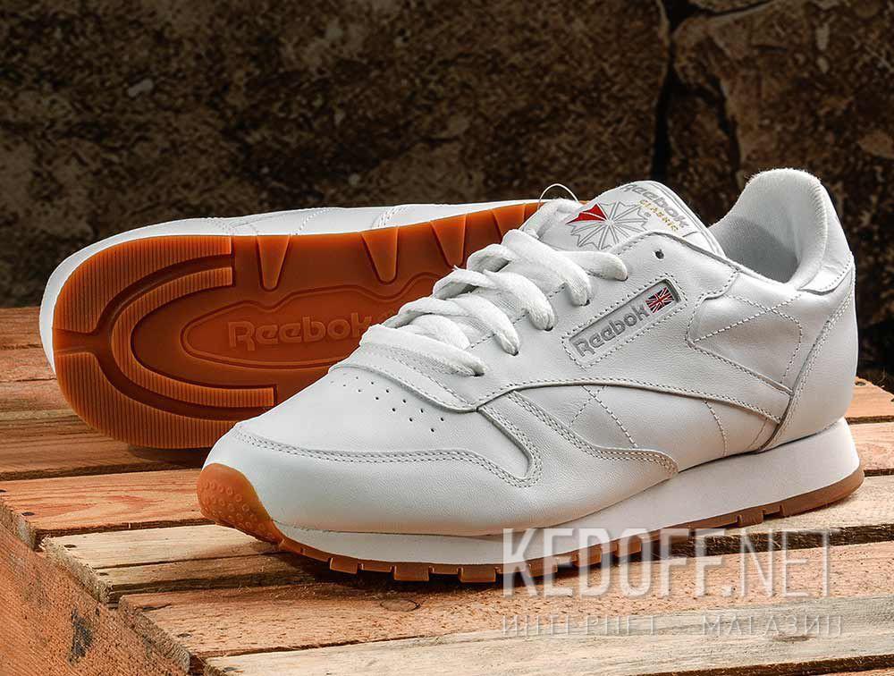 Цены на Кроссовки Reebok  Classic Leather 49803 White