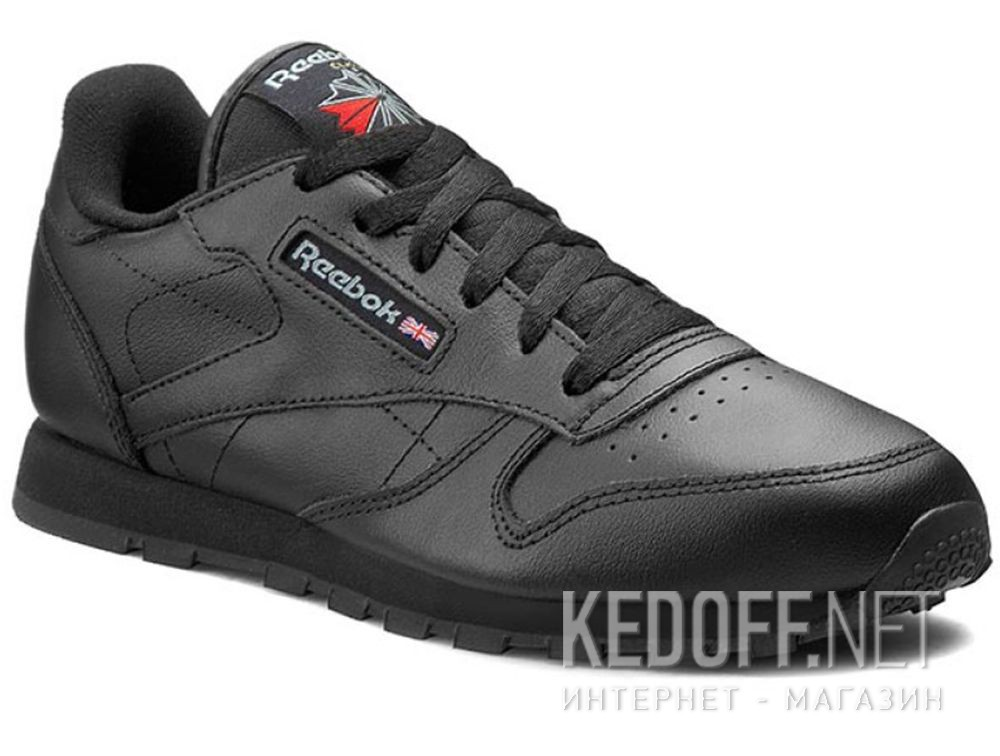 46f785453b101 Shop Shoes Reebok Classic Leather Black 50149 skin at Kedoff.net - 23298