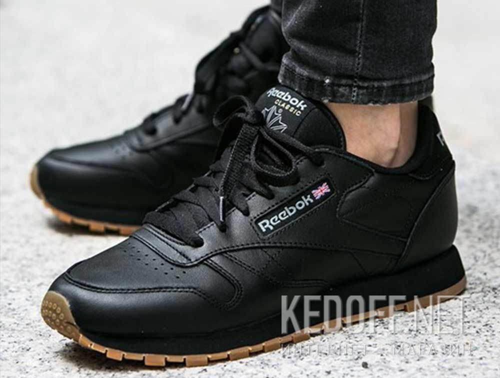 2c57c58b668 Shop Sneakers Reebok Classic Leather - Black 49804 at Kedoff.net - 21585