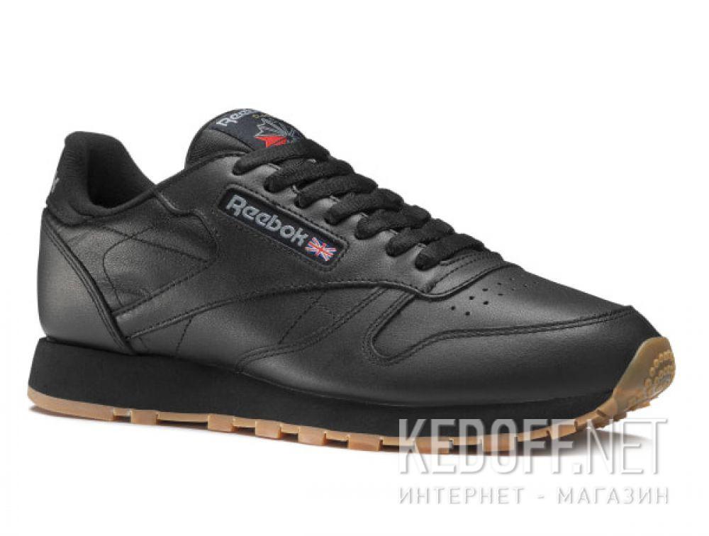Купить Кроссовки Reebok Classic Leather Black/Gum 49800   (чёрный)