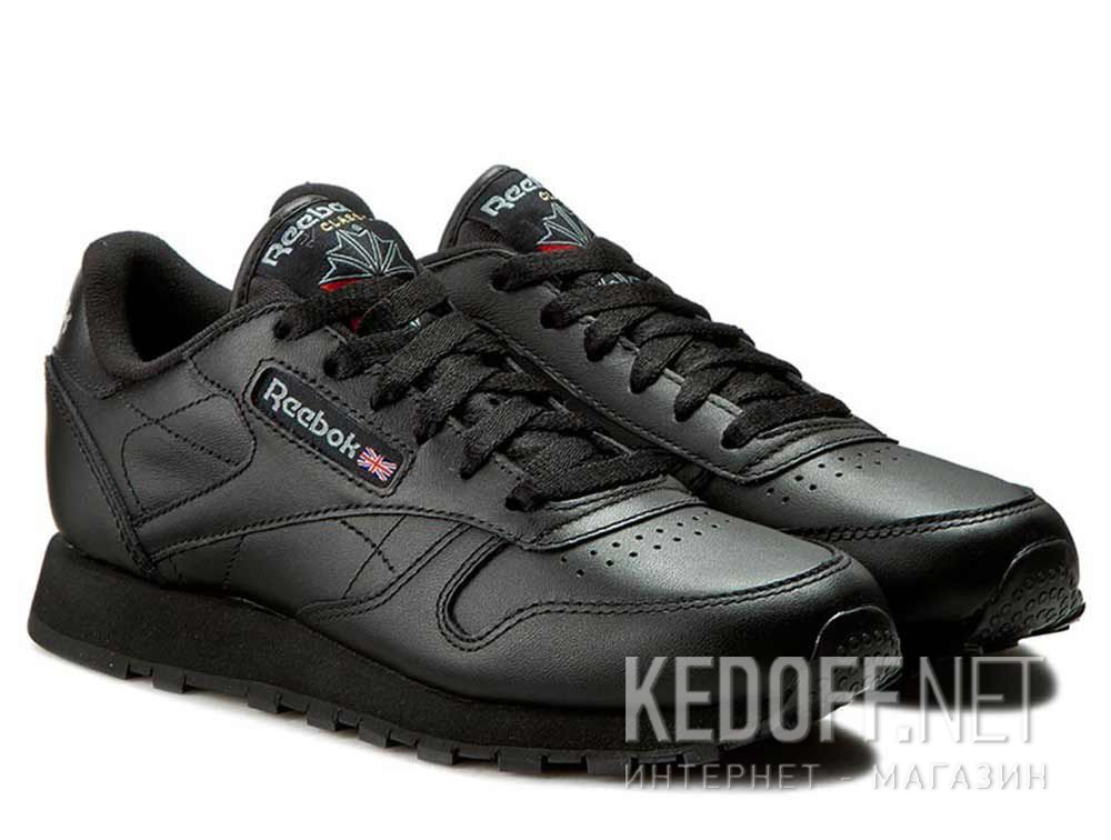 Sneakers Reebok Classic Leather Int-black 3912 купить Украина