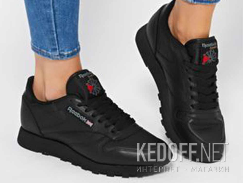 unique design buy popular latest discount Sneakers Reebok Classic Leather Int-black 3912