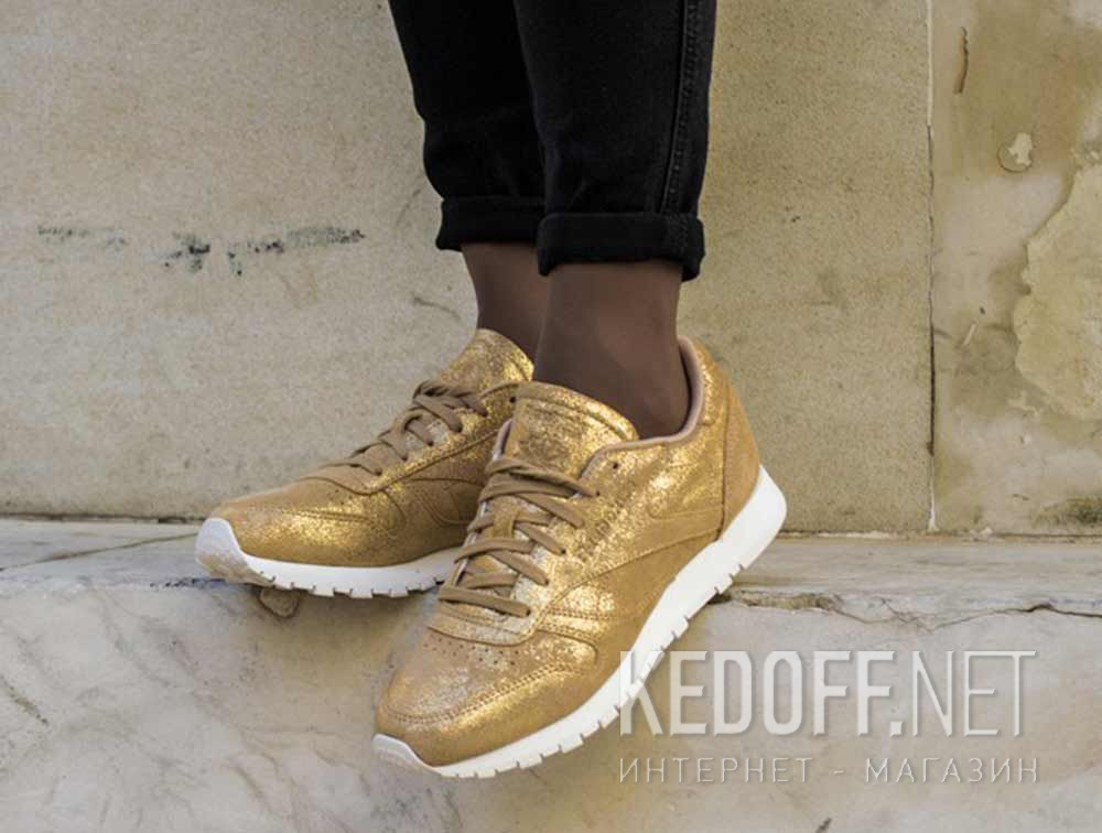8481a3b505ac4 Sneakers Reebok Classic Leather Shimmer Gold CN0574 доставка по Украине.  Reebok E.R.S
