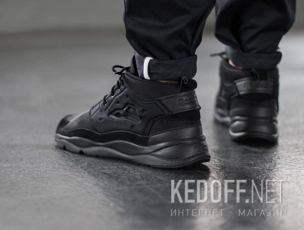 Цены на Мужские кроссовки Reebok FURYLITE CHUKKA V70063   (чёрный)