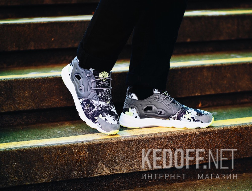 Мужская спортивная обувь Reebok Furylite V69506   (серый) доставка по Украине