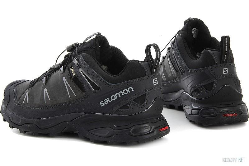 Men S Salomon X Ultra Ltr Gtx Walking Shoes Black