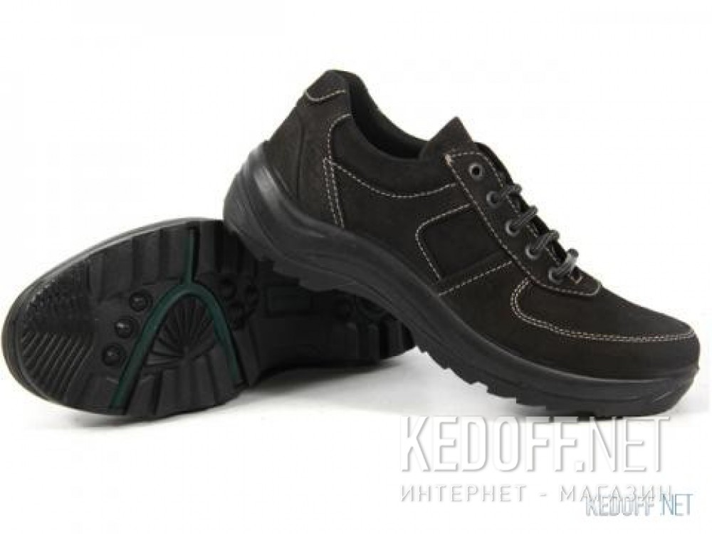 Men's Forester 4508-0227 Black nubuck