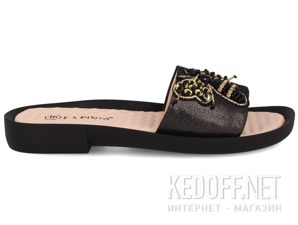 Шлепанцы Las Espadrillas 0235-A4-27   (чёрный) купить Украина