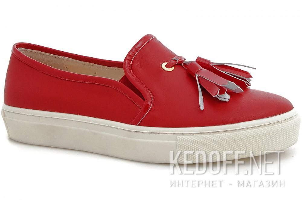 Купить Мокасины Las Espadrillas 03534-47 унисекс   (красный)